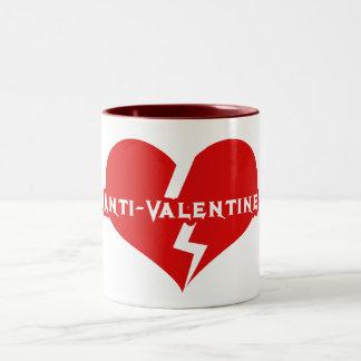 Anti-Valentines Day Heartbreaker Coffee Mug