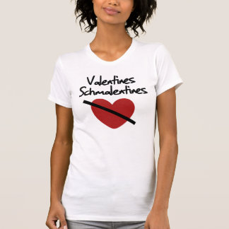 Anti valentines day humor tshirts