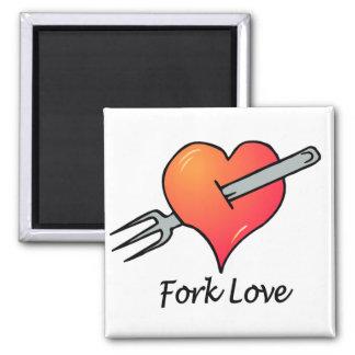 Anti-Valentine's Day Square Magnet
