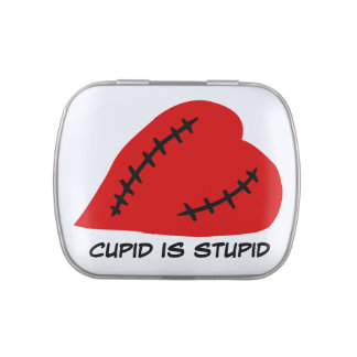 Anti-Valentine's Day: Stupid Cupid Jelly Belly Candy Tins