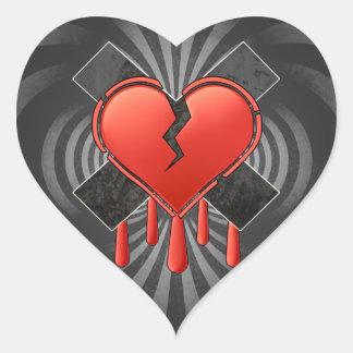 Anti Valentine's Heart Sticker