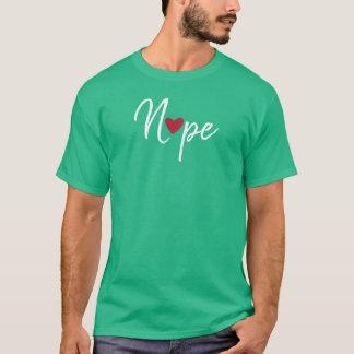 Anti Valentines Nope T-Shirt
