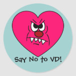 Anti-VD: I hate Valentines Day Angry Heart Face