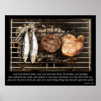 Anti-Vegetarian Poster