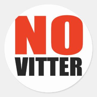 ANTI-VITTER CLASSIC ROUND STICKER