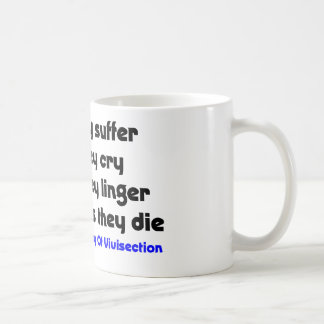 Anti Vivisection Coffee Mug