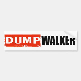 ANTI-WALKER BUMPER STICKER