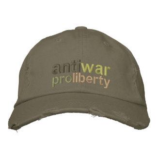 Anti War Baseball Cap
