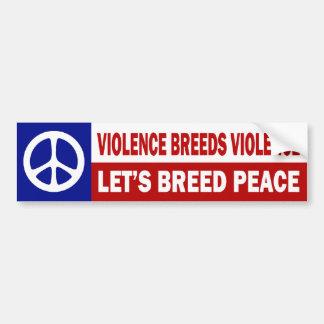 Anti-War Bumper Sticker