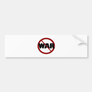 Anti War Bumper Sticker