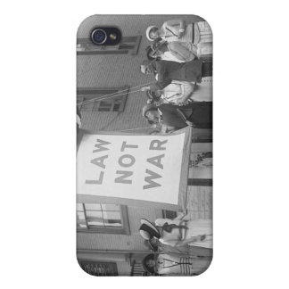 Anti-War Rally, 1920s Cover For iPhone 4