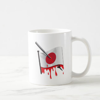 anti-whaling statement harpoon flag coffee mug