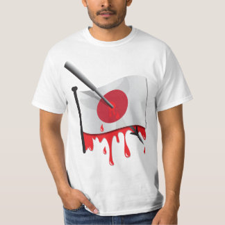 anti-whaling statement harpoon flag T-Shirt