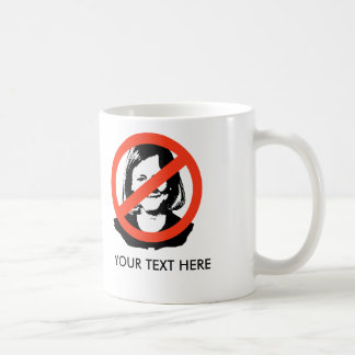 ANTI-WHITMAN COFFEE MUG