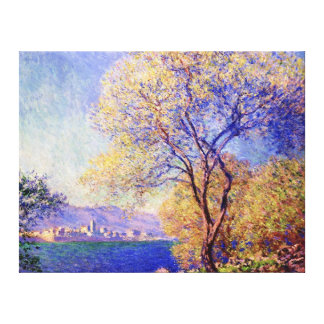 Antibes, by Claude Monet Gallery Wrap Canvas