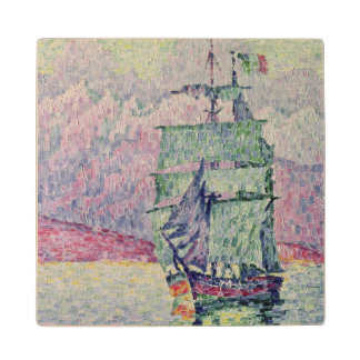 Antibes, Evening, 1914 Wood Coaster