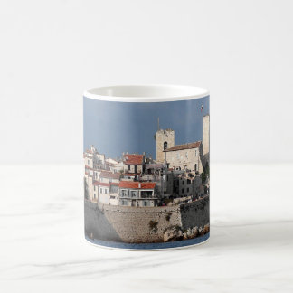 Antibes France Basic White Mug