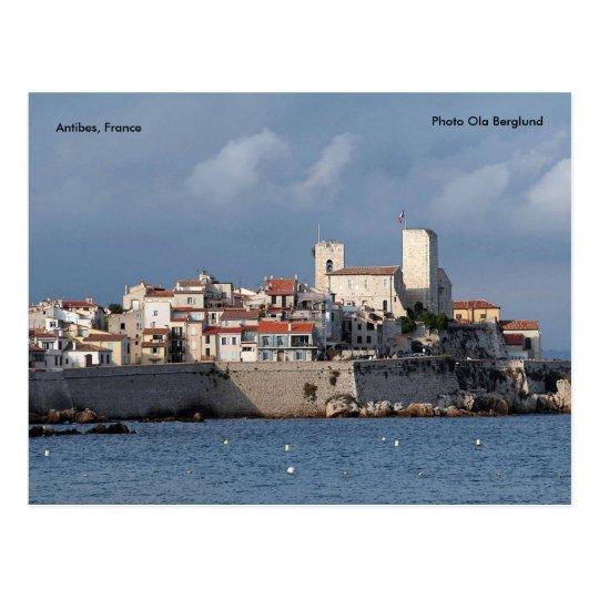 Antibes, France, Photo Ola Berglund Postcard