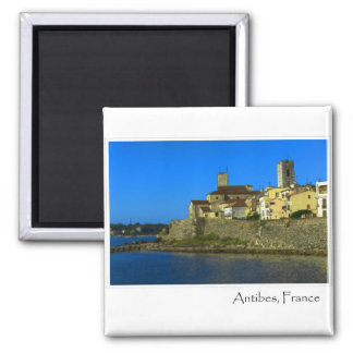 Antibes France Square Magnet