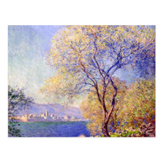 Antibes seen from the Salis Garden - Claude Monet Post Card