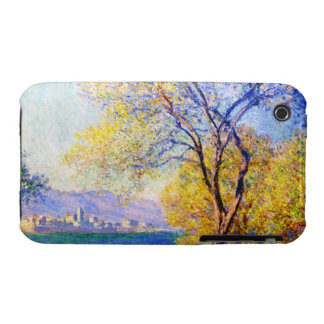 Antibes Seen from the Salis Gardens Claude Monet Case-Mate iPhone 3 Cases
