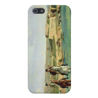 Antibes, the Horse Ride, 1868 iPhone 5/5S Case