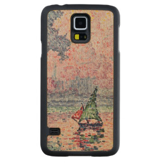 Antibes, the Pink Cloud, 1916 Carved Maple Galaxy S5 Case