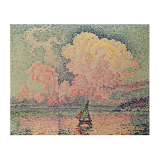 Antibes, the Pink Cloud, 1916 Wood Print