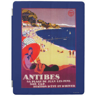 Antibes Vintage PosterEurope iPad Cover