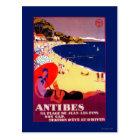 Antibes Vintage PosterEurope Postcard