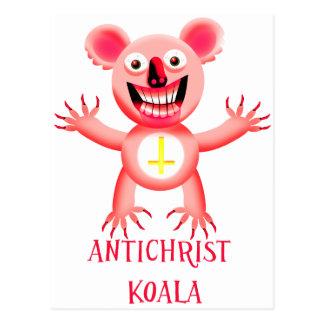 ANTICHRIST KOALA POSTCARD