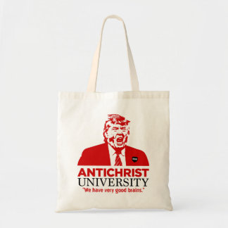 ANTICHRIST UNIVERSITY Trump Tote Bag