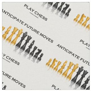 Anticipate Future Moves Play Chess Advice Humor Fabric