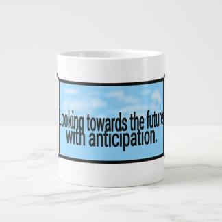 Anticipation mug