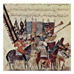 Anticipation of procession by Yahya ibn Mahmud Print