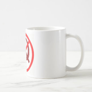 anticommunist basic white mug
