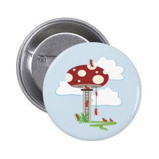 Antics 6 Cm Round Badge