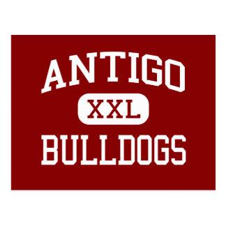 Antigo - Bulldogs - Middle - Antigo Wisconsin Postcard