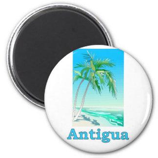 Antigua 6 Cm Round Magnet