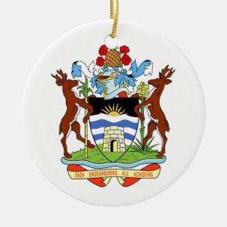 Antigua and Barbuda Coat of Arms Ornament