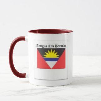 Antigua and Barbuda Coat of Arms T-shirt And Etc Mug