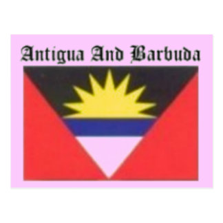 Antigua and Barbuda Coat of Arms T-shirt And Etc Postcard
