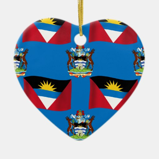 Antigua and Barbuda Crest Ornaments