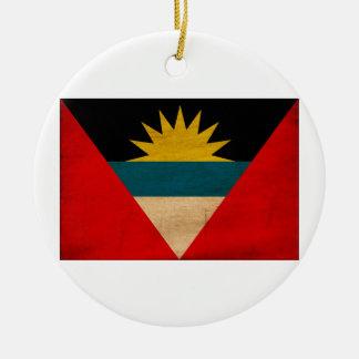Antigua and Barbuda Flag Christmas Ornaments
