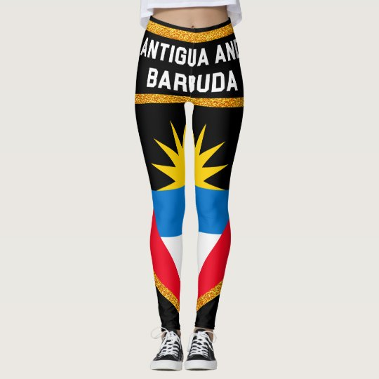 Antigua And Barbuda Flag Leggings