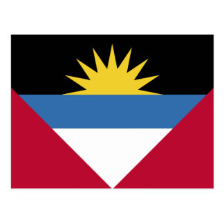 Antigua and Barbuda Flag Postcard