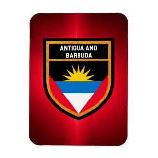 Antigua And Barbuda Flag Rectangular Photo Magnet