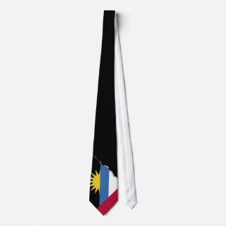 Antigua and Barbuda Flag Tie
