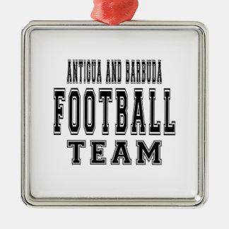 Antigua and Barbuda Football Team Christmas Tree Ornaments