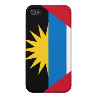 Antigua and Barbuda National Nation Flag  iPhone 4 Cases